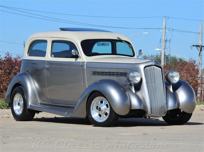 1935 Plymouth PJ Big Block Hot Rod with AC