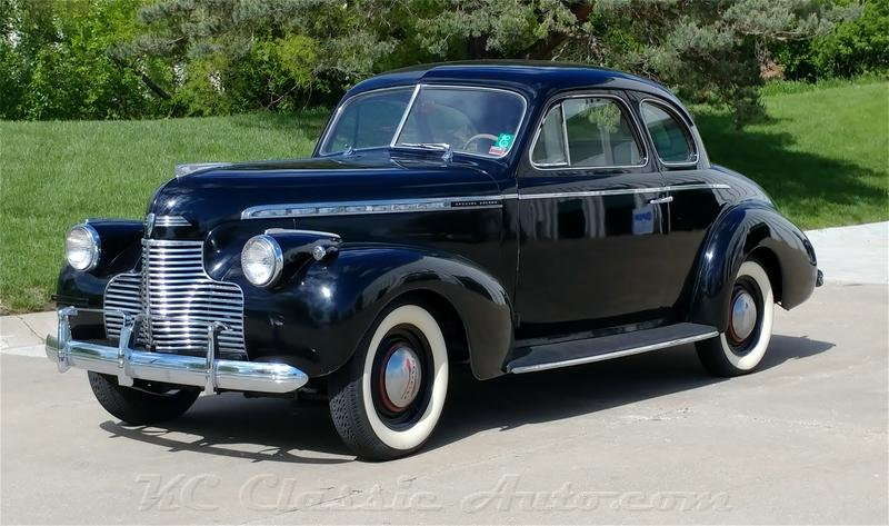 1940 Chevrolet Master Special Deluxe Coupe