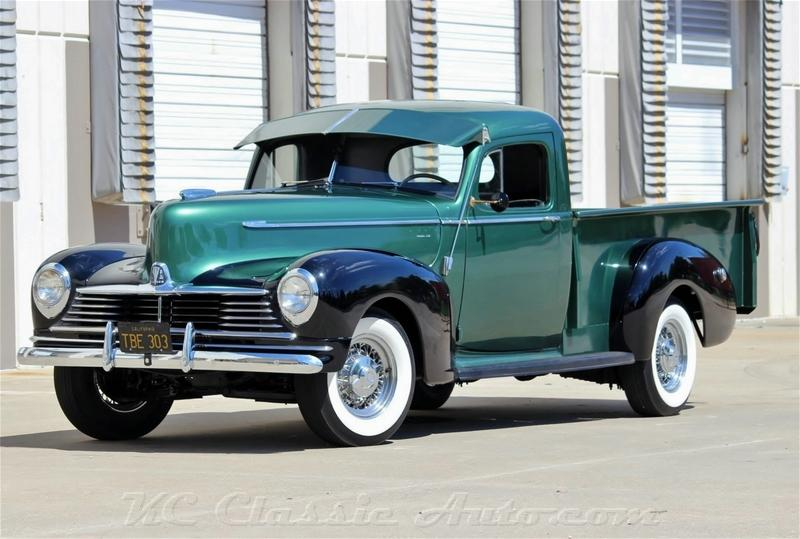 1946 Hudson Series 58 Pickup Numbers Matching Frame Off