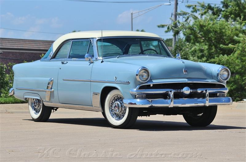 1953 FORD CRESTLINE VICTORIA AC for sale, Muscle Cars, Collector ...