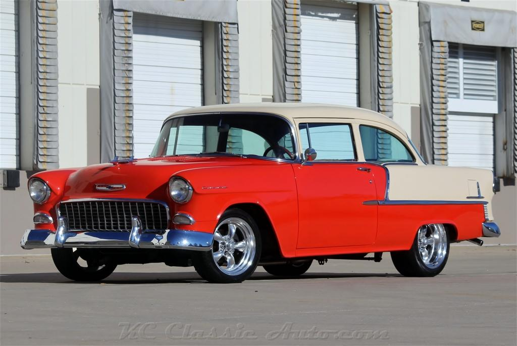 rat rod red wheels 1955 chevrolet 210 350v8 automatic ac for sale muscle cars