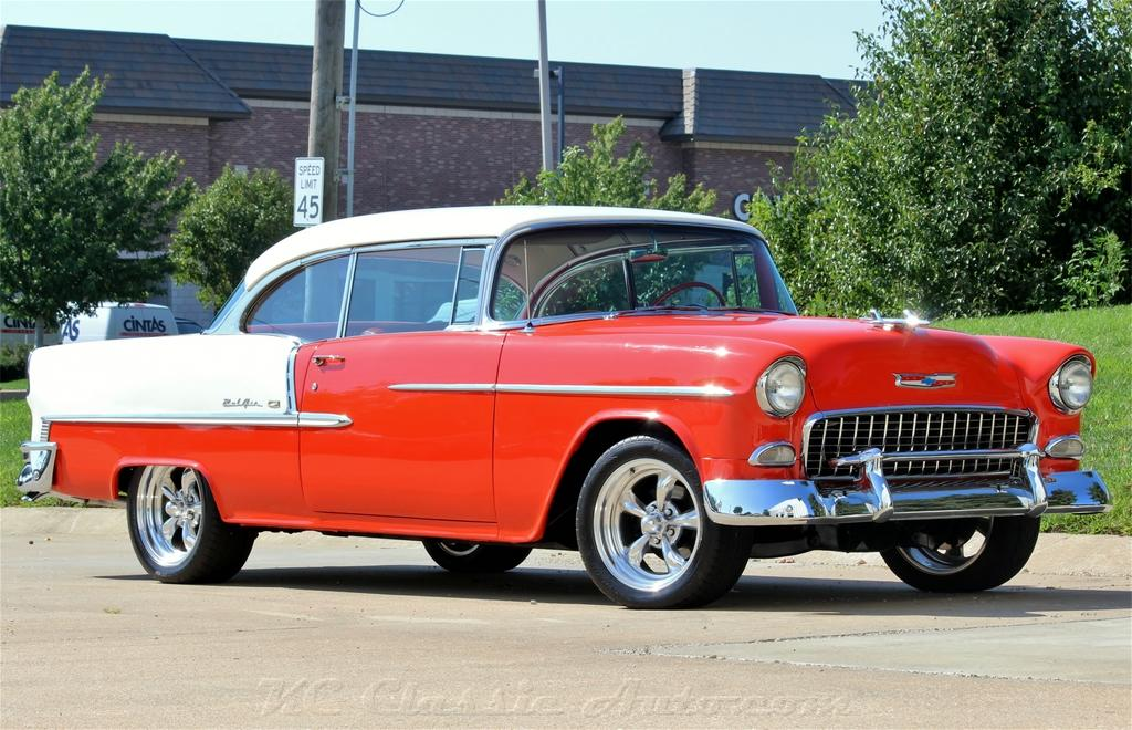 1955 CHEVROLET Bel Air AC Automatic for sale, Muscle Cars, Collector ...