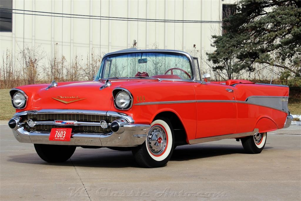 1957 CHEVROLET BEL AIR CONVERTIBLE for sale, Muscle Cars ...