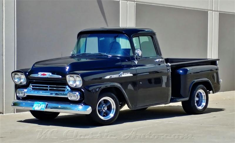 1958 Chevrolet Apache Pickup Big Block Automatic For Sale Muscle