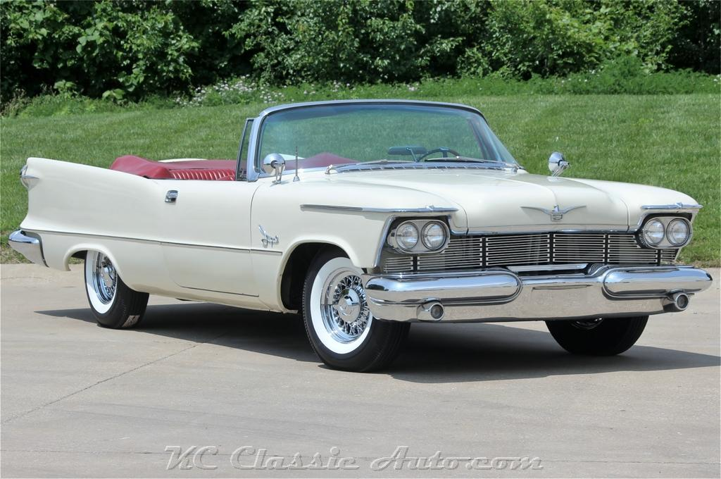 1958 CHRYSLER Imperial Convertible RARE!!!, Mopar for sale, Muscle ...