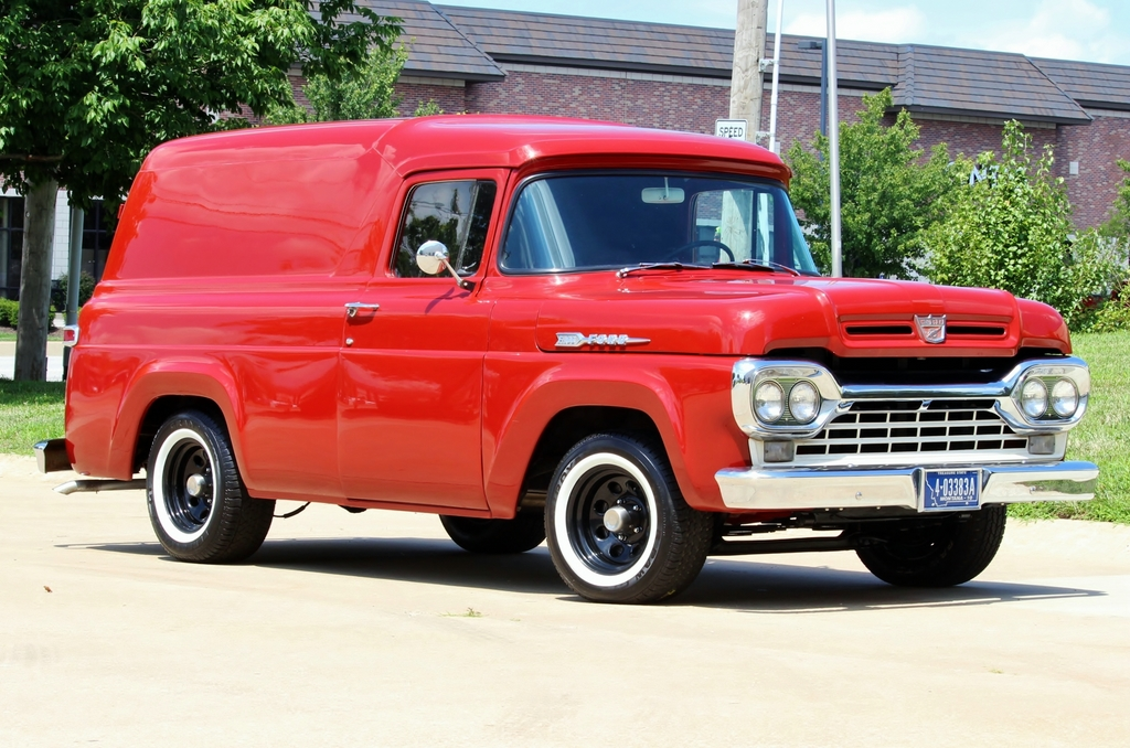 1960 FORD Panel Van Automatic for sale, Muscle Cars, Collector ...
