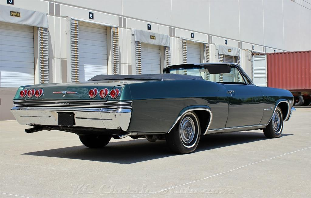 1965 CHEVROLET IMPALA CONVERTIBLE BIG BLOCK 4SPD AC for sale, Muscle ...