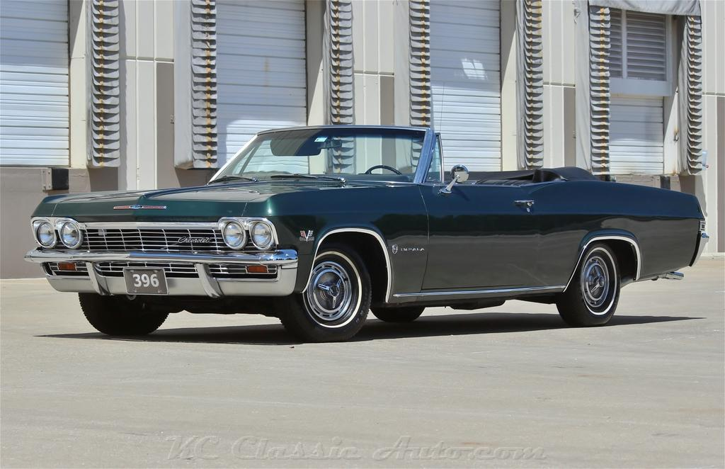1965 CHEVROLET Impala SS Convertible Big Block 4spd AC for sale ...