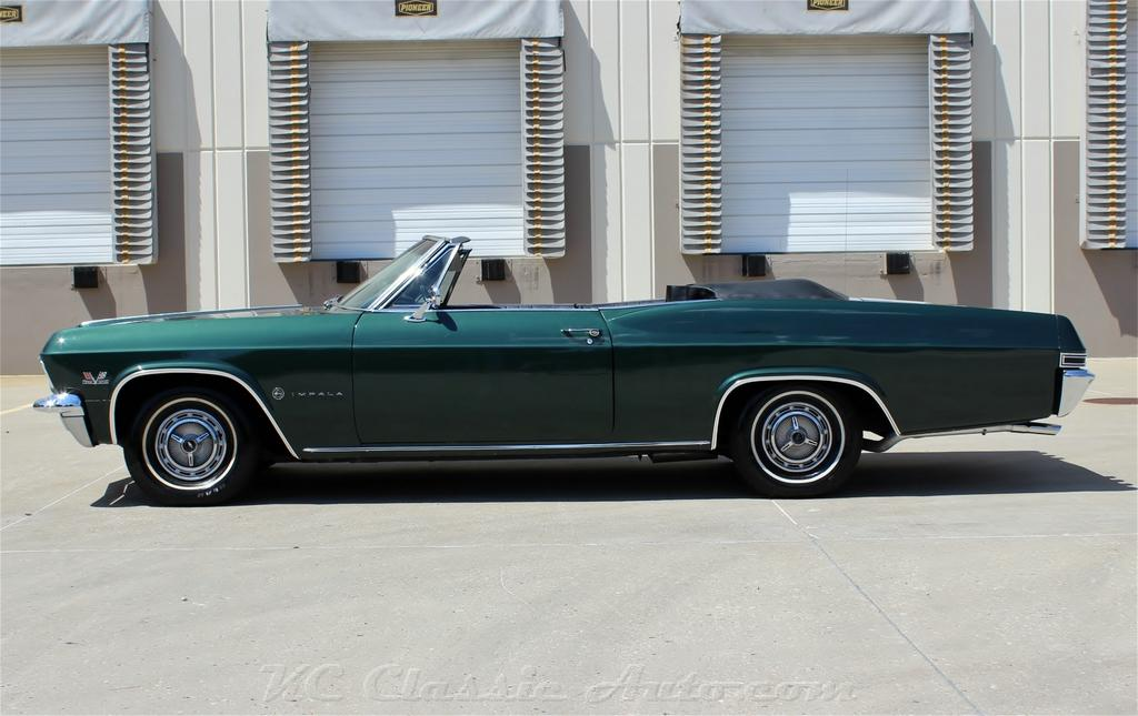 1965 chevrolet impala ss convertible big block 4spd ac for sale recent restoration finished in the original cypress green color and black interior the power top is new and works like it should publicscrutiny Choice Image
