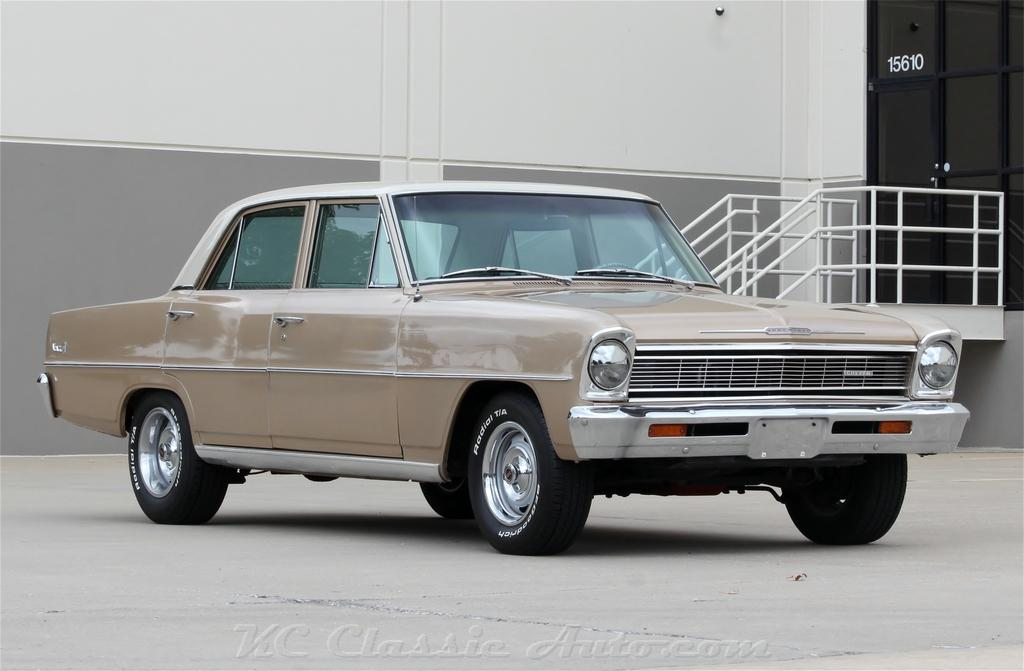 1966 CHEVROLET Chevy II Nova Auto Auctal Miles and AC for sale ...