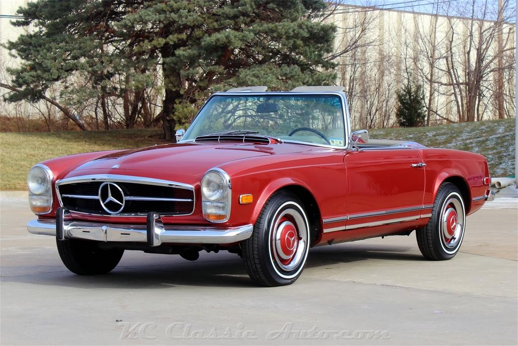 1966 MERCEDES BENZ 230SL Restored Pagonda for sale, Muscle Cars ...