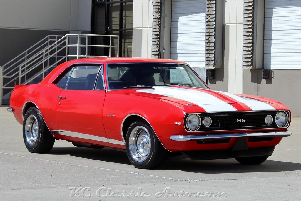 1967 CHEVROLET Camaro SS LT1 6spd AC for sale, Muscle Cars ...