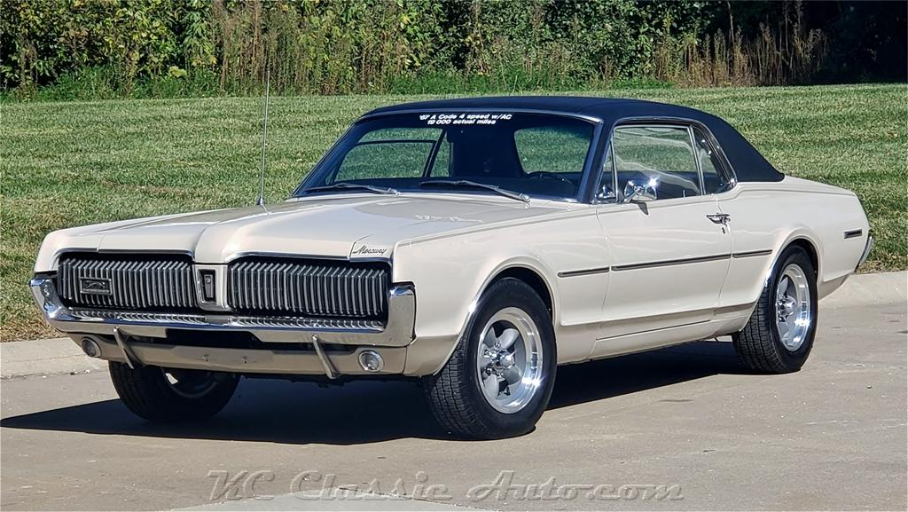 1967 MERCURY Cougar 19k miles 2 owner 289 4spd for sale, Muscle Cars ...