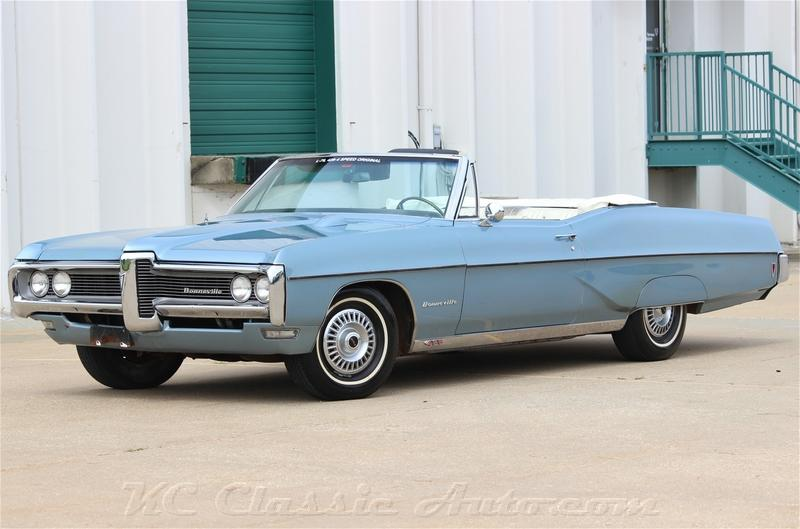 Click for 1968 Pontiac Bonneville 428V8  4spd Convertible (428, 4spd)