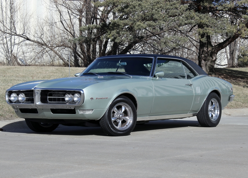 Click for 1968 Pontiac Firebird Automatic AC (350, Turbo 350 Automatic)