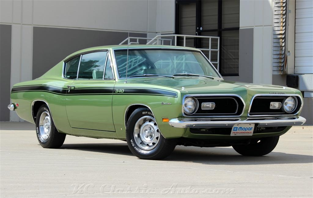 1969 PLYMOUTH Barracuda Commando 340 Automatic with AC, Mopar for ...