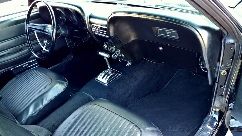1969 Ford Mustang Fastback 302 Ac Rotisserie Restored For Sale Muscle Cars Collector Antique