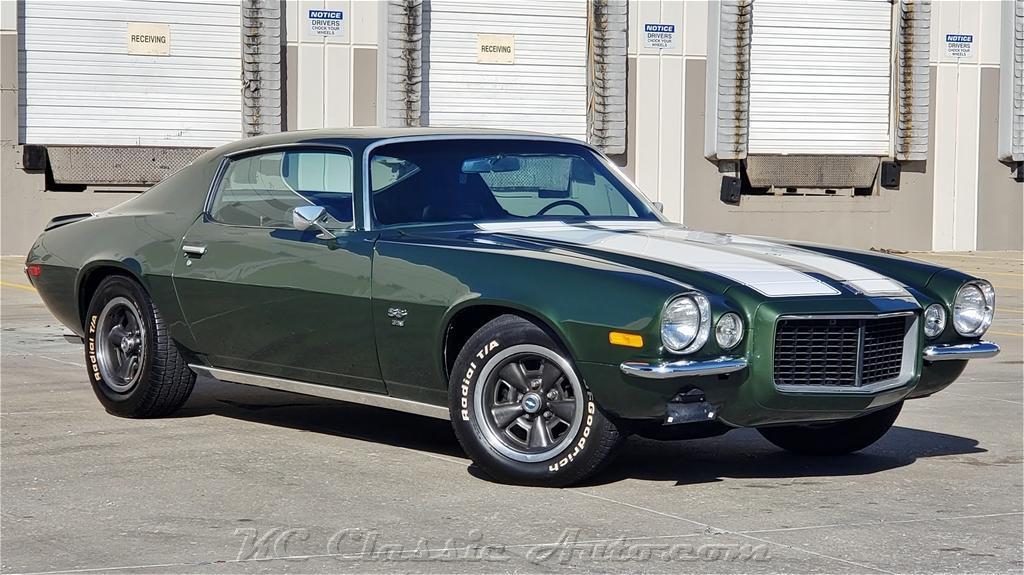 1970 Chevrolet Camaro SS396 Big Block with Automatic and AC