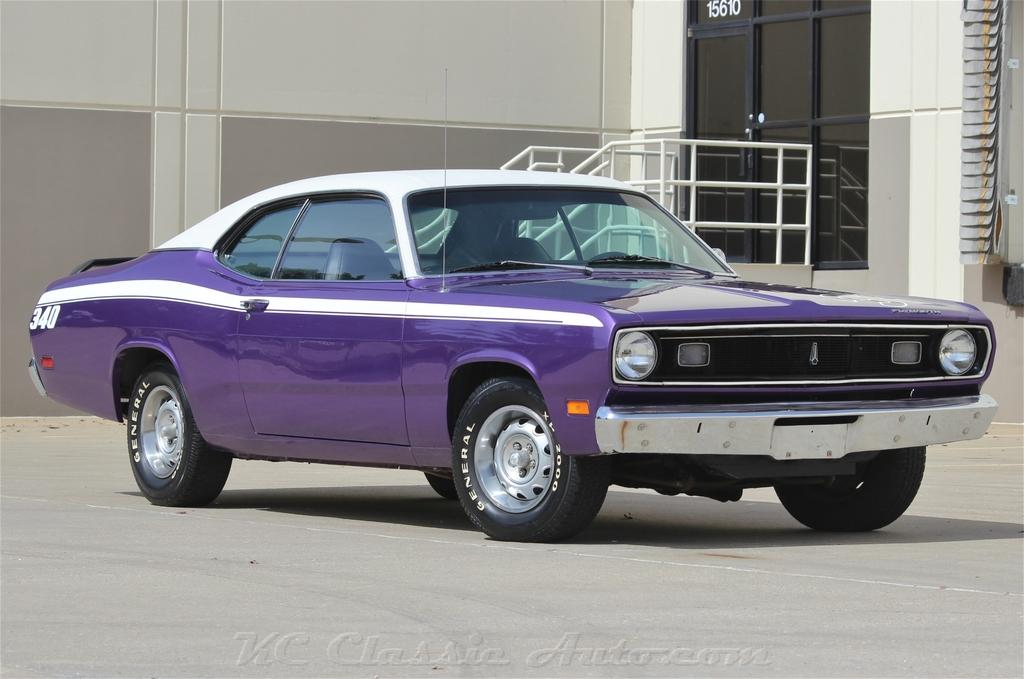 1970 PLYMOUTH Duster 340 Pistol Grip 4spd, Mopar for sale, Muscle ...