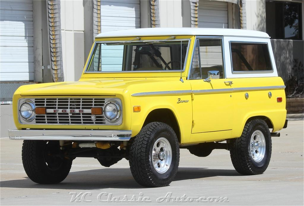 1973 Ford Bronco Restored With 302 V8 And Automatic For Sale Muscle Cars Collector Antique And Vintage Cars Street Rods Hot Rods Rat Rods And Trucks For Sale By Kc Classic Auto