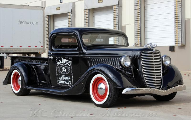 1936 ford pickup whiskey runner rat rod 396 v8 for sale
