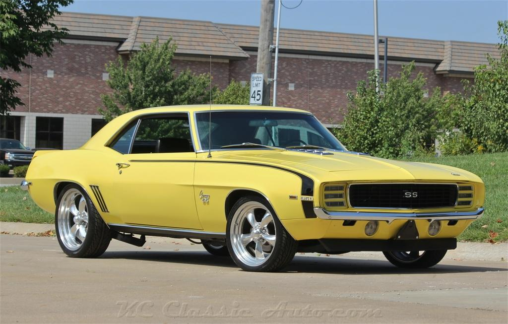1969 Chevrolet Camaro Rs Ss 4spd Ac For Sale Muscle Cars