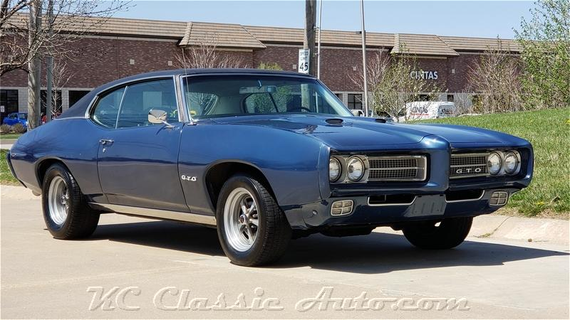 1969 PONTIAC GTO 400V8 for sale, Muscle Cars, Collector