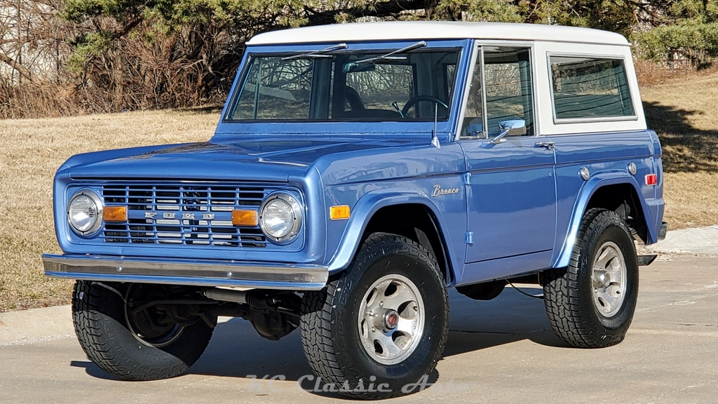 1976 Ford Bronco Classic Bronco In Great Shape Automatic For Sale Muscle Cars Collector Antique And Vintage Cars Street Rods Hot Rods Rat Rods And Trucks For Sale By Kc Classic Auto