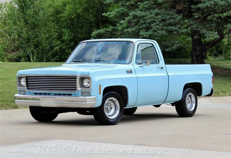 77 Chevy Truck >> 1977 Chevrolet C10 Heavy Chevy Half Ton Hd Like New For
