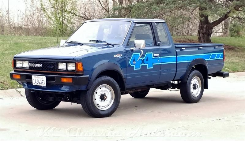 1983 NISSAN 720 PICKUP KING CAB 4X4 for sale, Muscle Cars ...